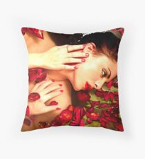 lost in pedals Throw Pillow