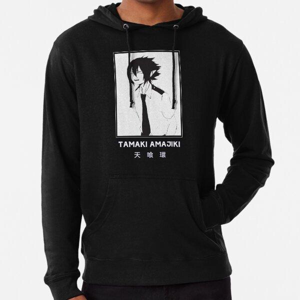 TAMAKI AMAJIKI - My Hero Academia - Black Version Lightweight Hoodie
