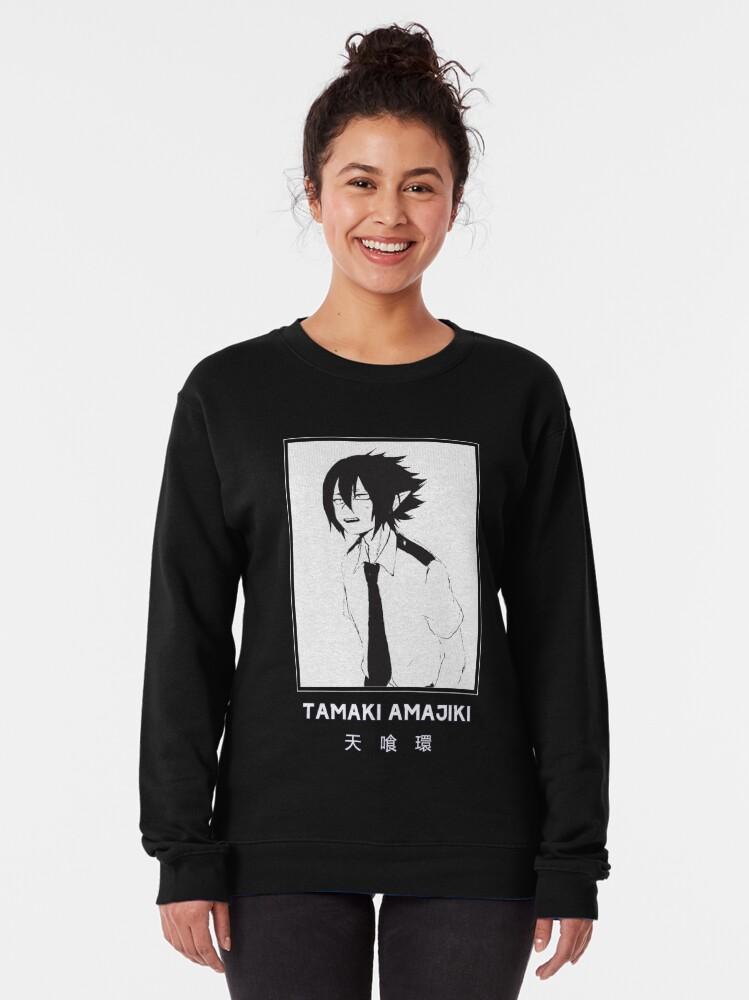 Alternate view of TAMAKI AMAJIKI - My Hero Academia - Black Version Pullover Sweatshirt