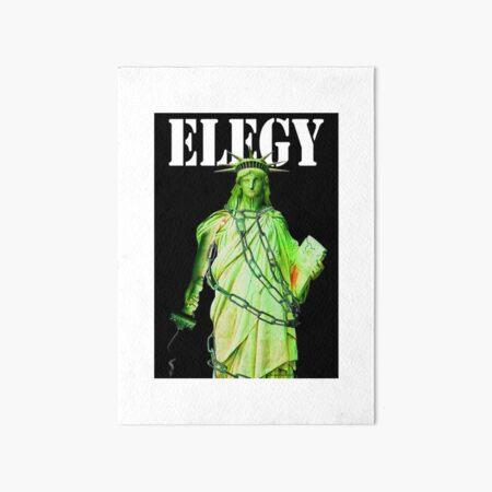 Elegy Art Board Print