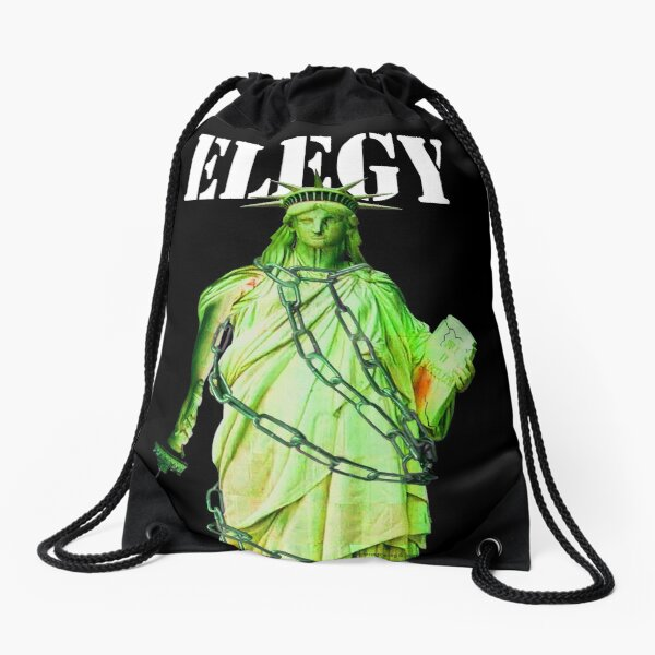 Elegy Drawstring Bag