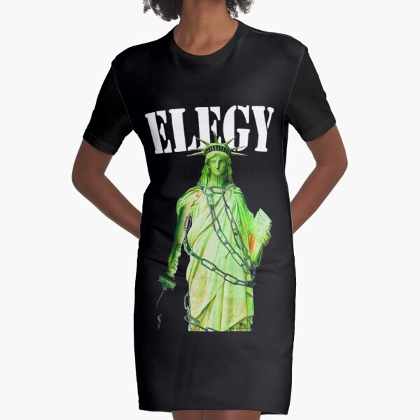 Elegy Graphic T-Shirt Dress