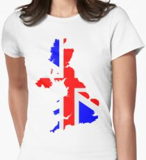United Kingdom Women's Fitted T-Shirt