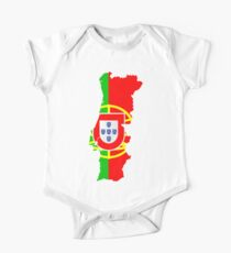 Portugal Flag and Map Kids Clothes