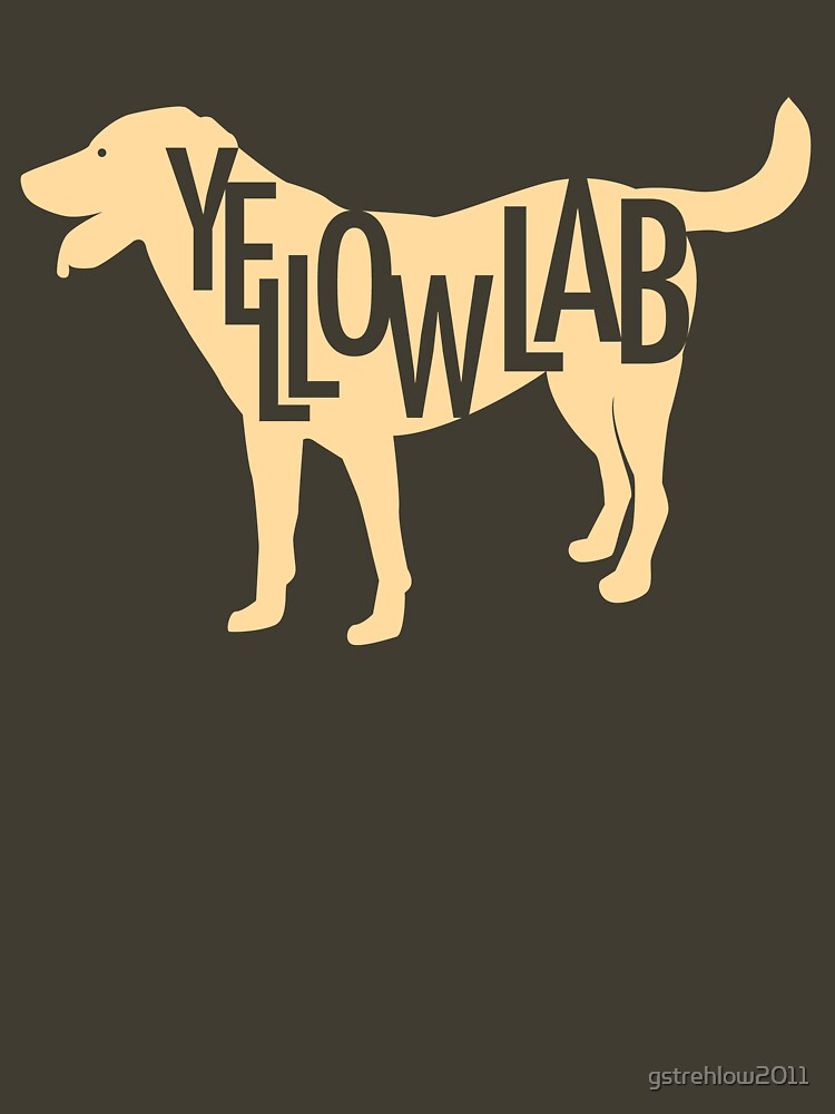 Yellow Lab by gstrehlow2011