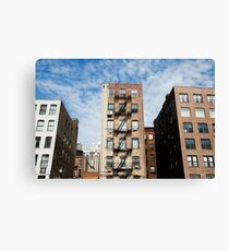 Lienzo Buildings of New York City