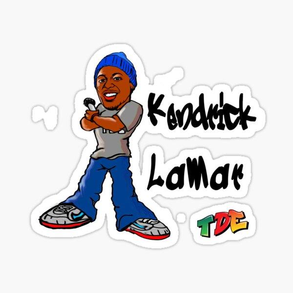 Kendrick Lamar Graffiti Style Sticker