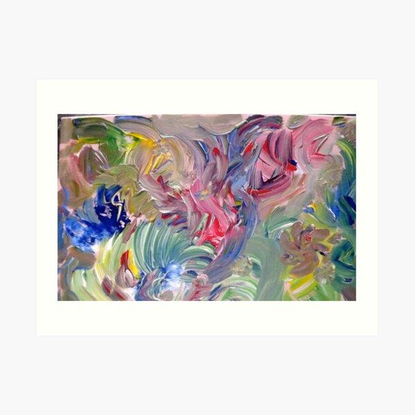 """""""Elementals"""" - Acrylic on Canvas Art Print"""