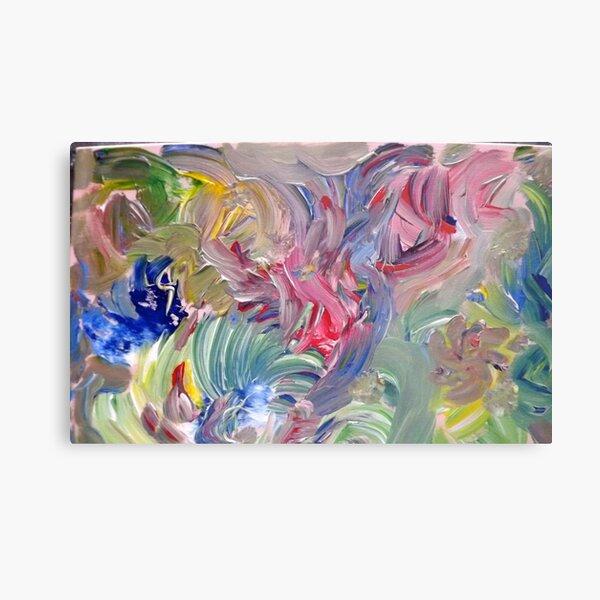 """Elementals"" - Acrylic on Canvas Metal Print"