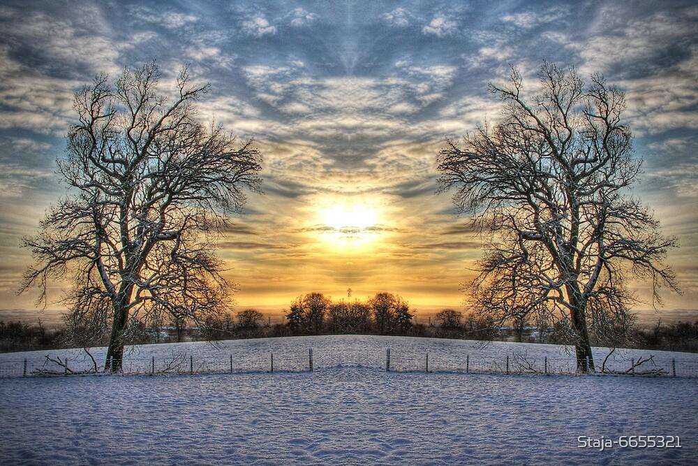 Sunrise Symmetry  by Staja-6655321