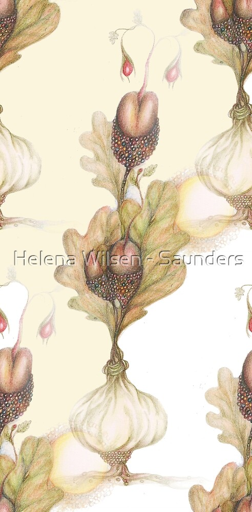 New Growth - Spring, seamless pattern by Helena Wilsen - Saunders