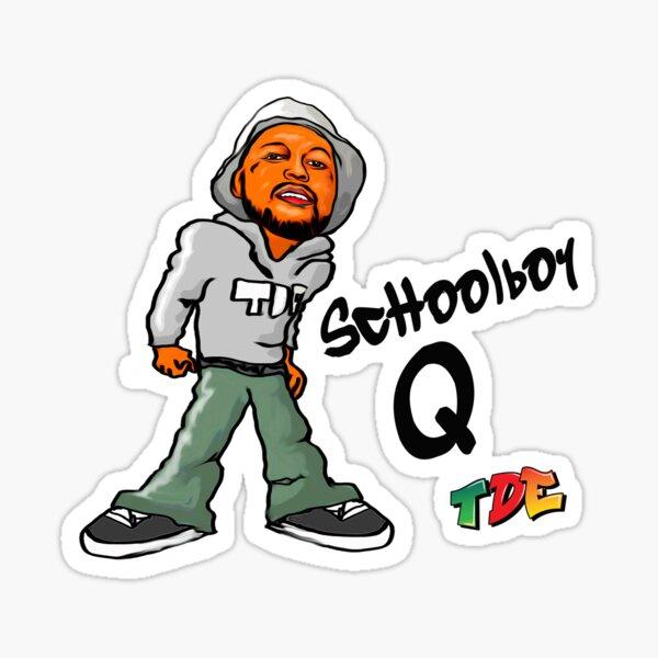 ScHoolboy Q Graf Style Sticker