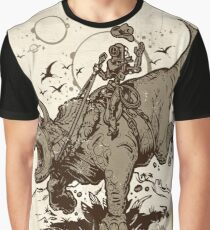 Triceratops CowBot Graphic T-Shirt