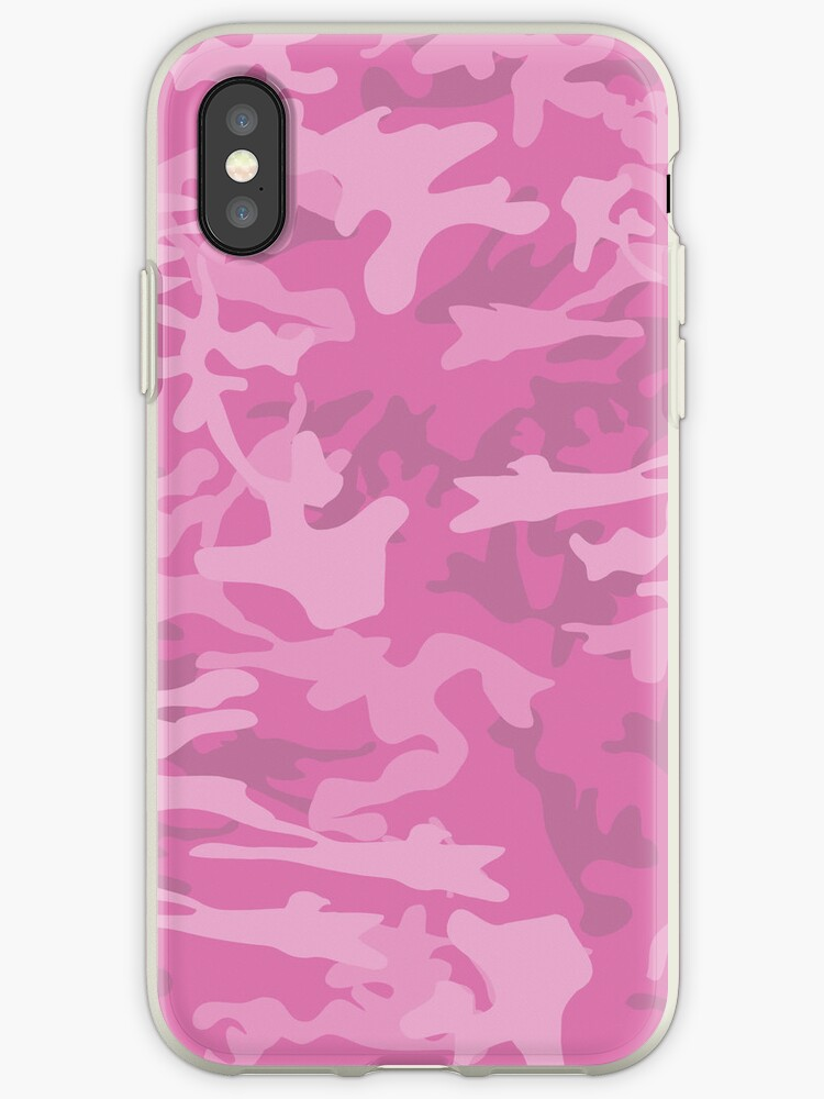Pink Camouflage by Nick Martin