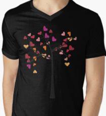 Tree love Mens V-Neck T-Shirt