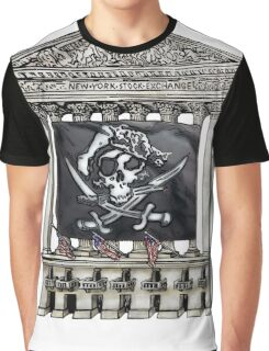 Wall Street Pirates Graphic T-Shirt
