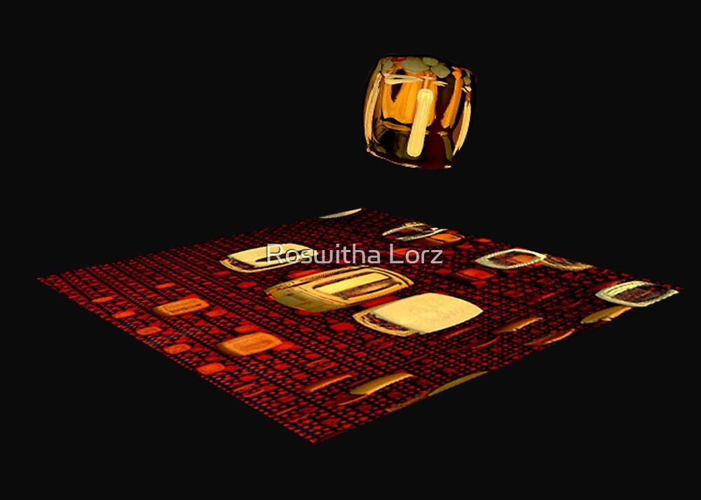 Cube landing by RosiLorz