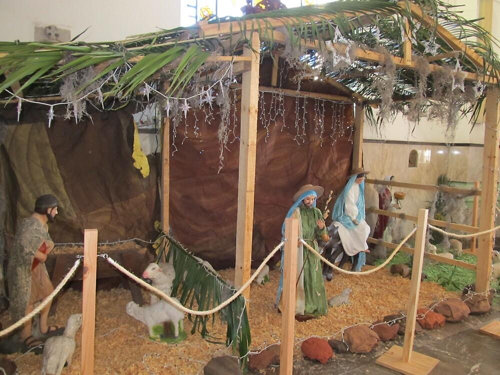 Nativity Scene - Nacimiento en Sta. Maria de Guadalupe by PtoVallartaMex