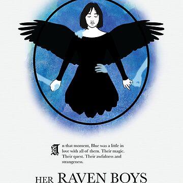 Her Raven Boys by lineymarie