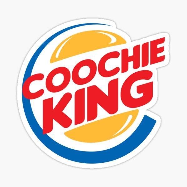 Coochie King Sticker