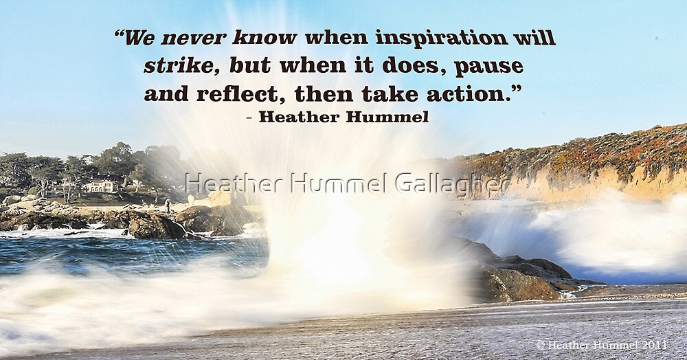 When Inspiration Strikes by GreenSaint