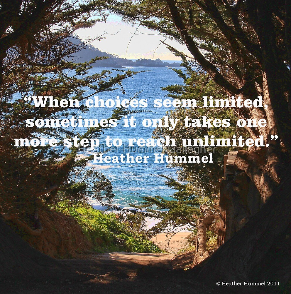 Unlimited Choices by GreenSaint