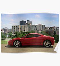 2004 Ferrari 360 Modena - Crown Center Complex - Kansas City, Missouri Poster