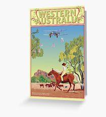 Art Deco Western Australia  Greeting Card