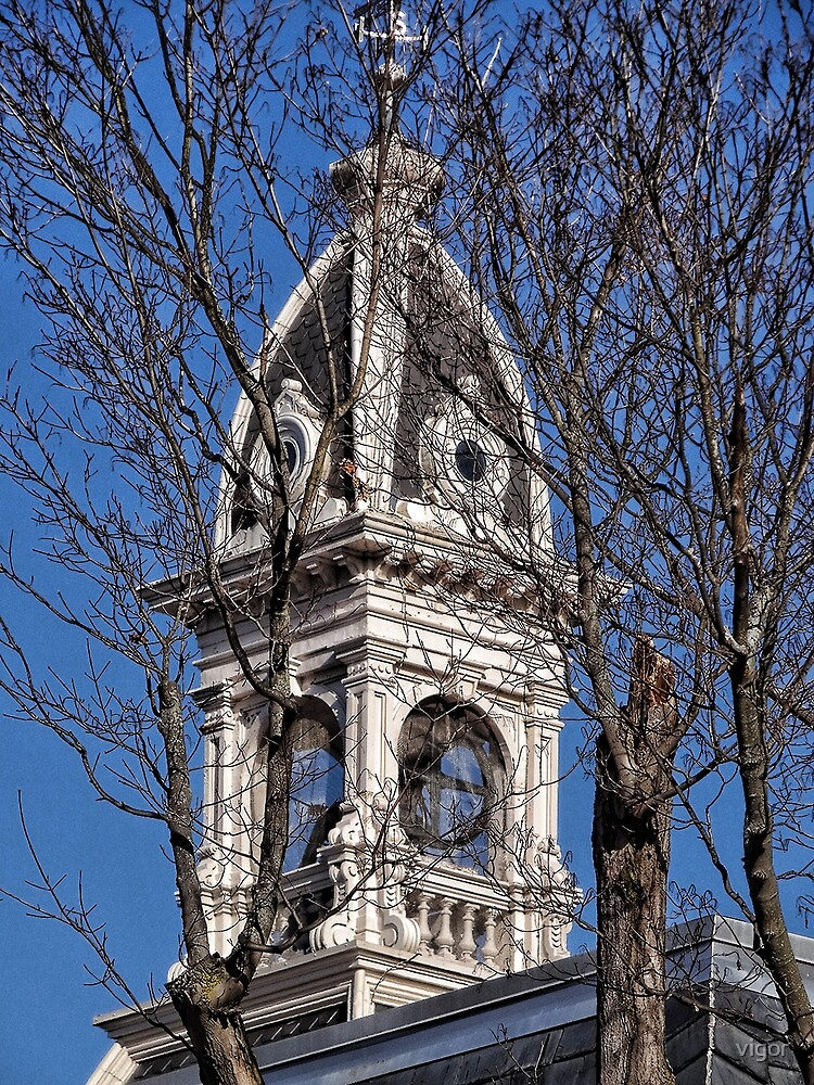 Courthouse tower by vigor