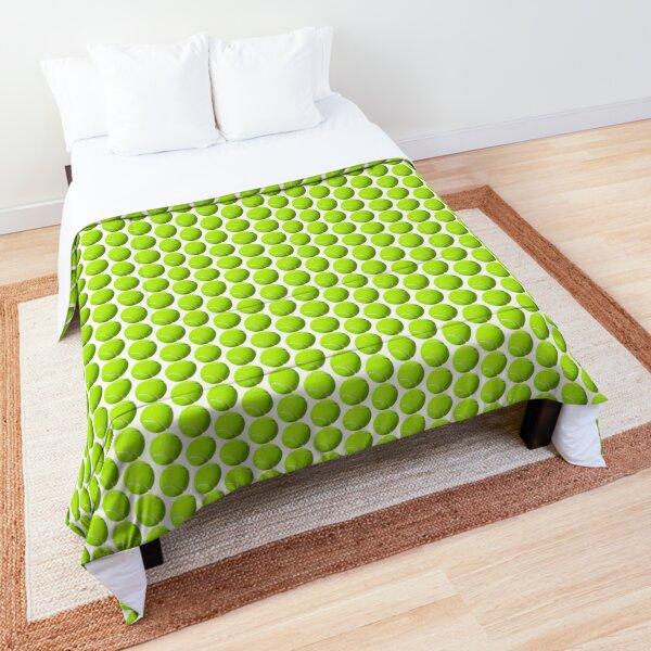 Tennis Ball Round Sticker Comforter