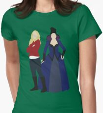 Swan Queen - Once Upon a Time Womens Fitted T-Shirt