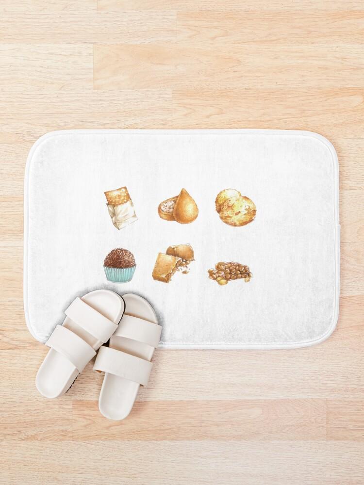 Alternate view of Brazilian Food #1 - Mini Set Bath Mat