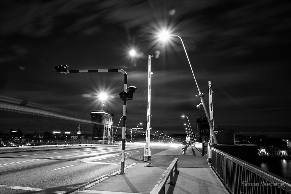 Bridge over Limfjorden by Simon Wedege