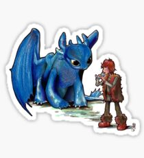 How To Train Your Dragon 'Toothless'  By EmegE  Sticker