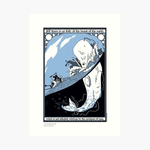 Moby Dick Kunstdruck