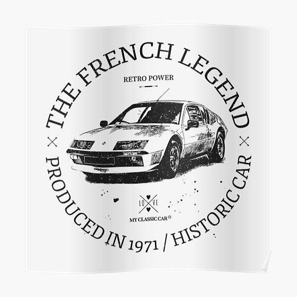 Renault Alpine A310 V6 Poster