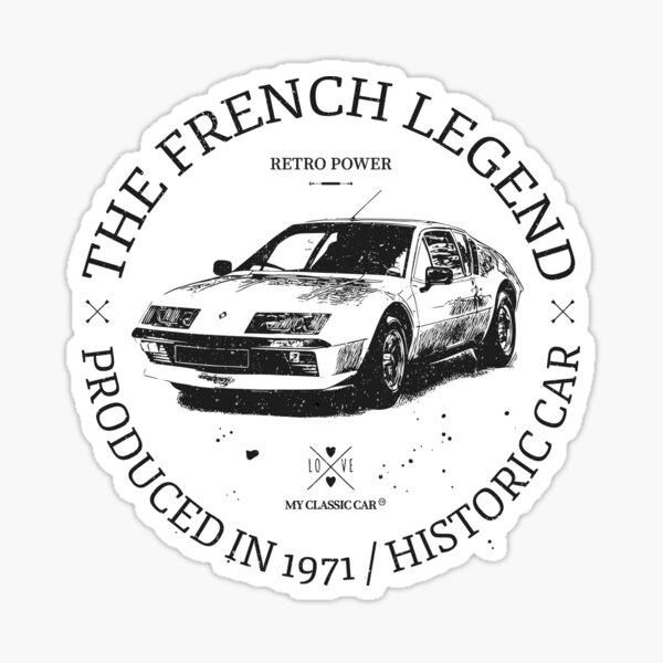 Renault Alpine A310 V6 Sticker