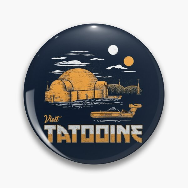 Visit Tatooine Pin