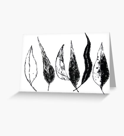Gumleaves Greeting Card