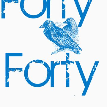 Forty Forty Bird Design  by FortyForty