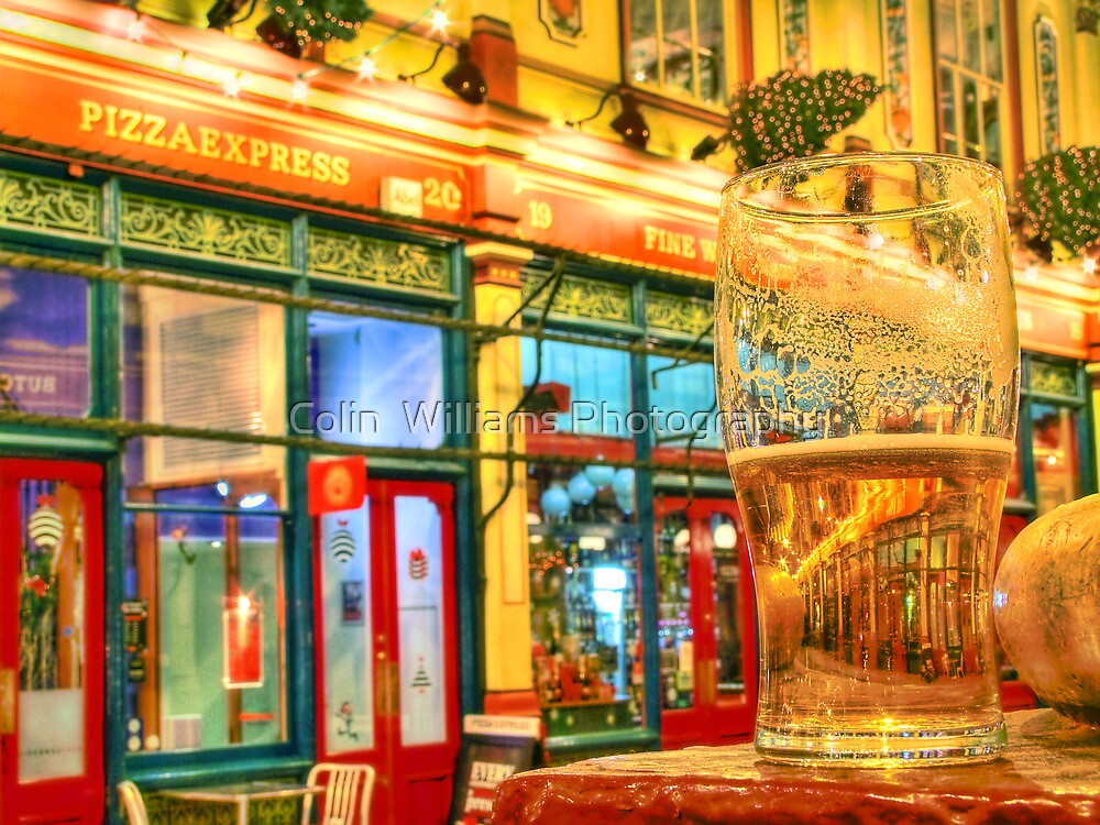 Pizza And A Pint - Leadenhall Market Series - London - HDR by Colin  Williams Photography