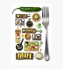 Mexican Food Photographic Print