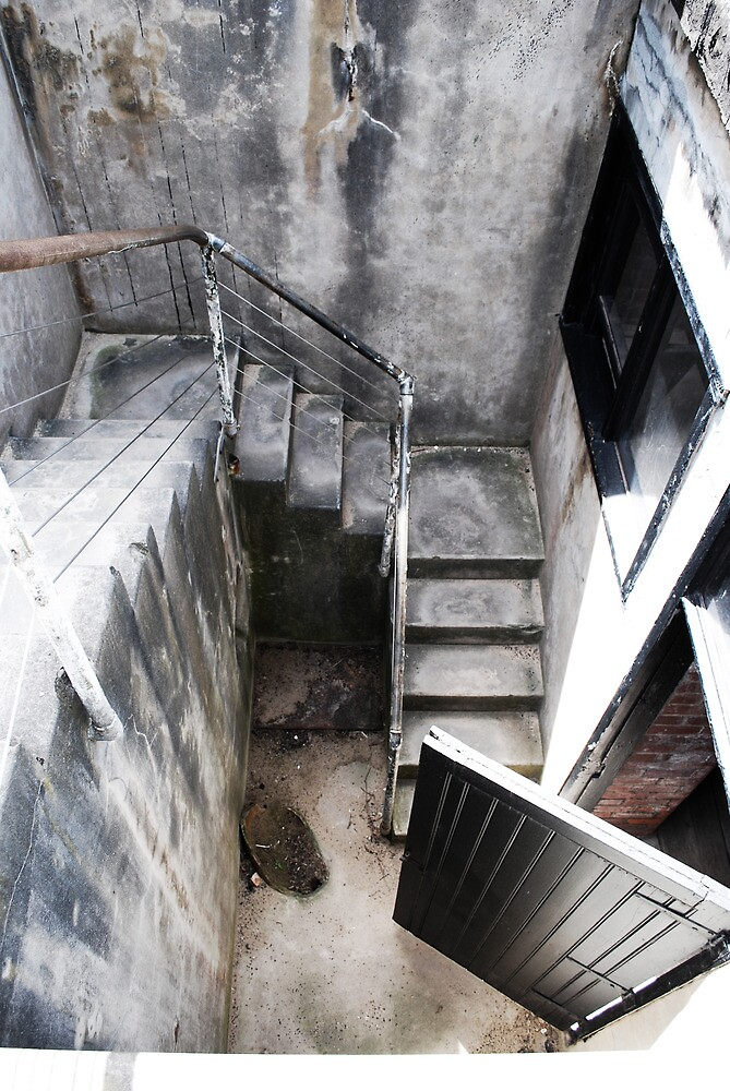 Downstairs by shaephotography