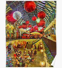 Christmas Covent Garden 2011 - HDR Poster