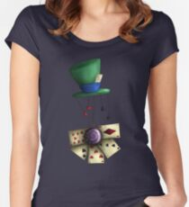 Madness is bliss  Women's Fitted Scoop T-Shirt