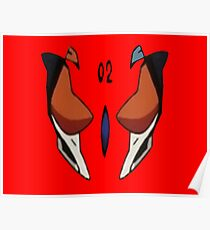 Evangelion 3 0 posters redbubble asuka langley soryu plugsuit 02 evangelion 30 poster sciox Image collections