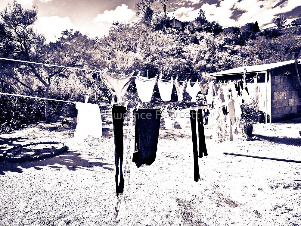 clothesline by lawrence Fawcett