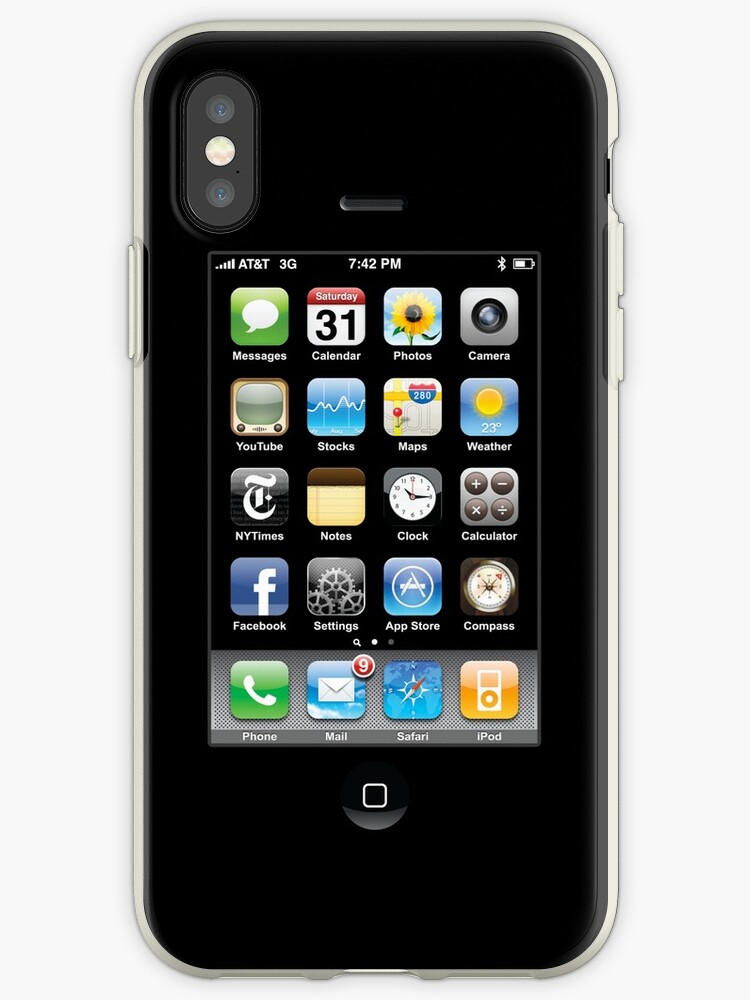 iPhone Cover Black by Ommik