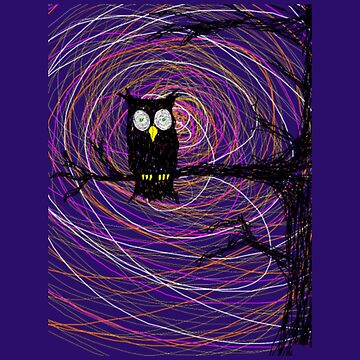 Halloween Night Owl by ElexElexan