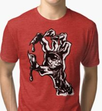 handed zombies Tri-blend T-Shirt